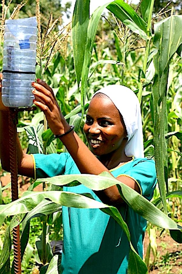 fulani-farmer-abdullah-ahjedis-daughter-demonstrating-how-she-takes-readings-from-rain-guage
